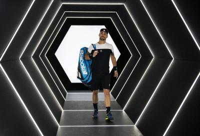 Federer batte Fognini nel match della stanchezza