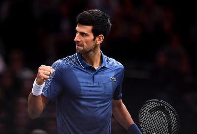 """A Djokovic il """"bentornato"""" dei colleghi"""