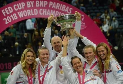 La Siniakova vince la maratona, la Fed Cup è ceca