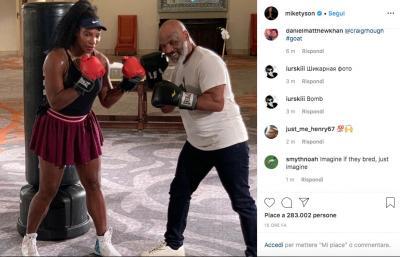 Serena vuole mettere tutte ko e si fa allenare da Mike Tyson