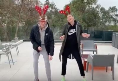 I pazzi auguri di Natale di Piatti, Sharapova, Sinner&co
