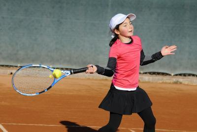 Il tennis itinerante di Camilla Castracani
