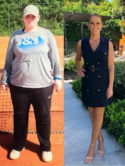 Jelena Dokic prima e dopo: ecco come l'ex n.4 del mondo ha perso 53 chili
