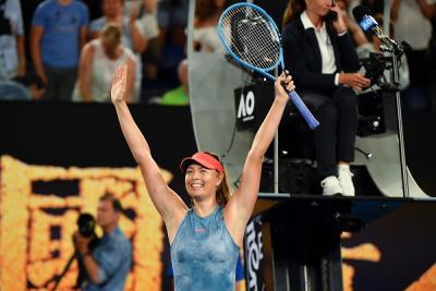 Maria Sharapova riceve una wild card per l'AusOpen