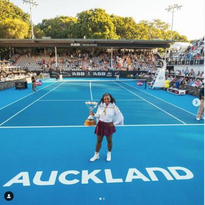 Serena Williams, finalmente una coppa da mamma