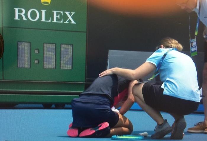 Condizioni critiche a Melbourne: è giusto giocare?