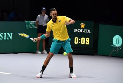Nadal sfida Kyrgios tra show e frecciatine. Halep-Mertens piatto forte tra le donne