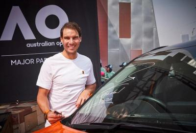 Nadal celebra con Kia i 19 anni di partnership agli Australian Open