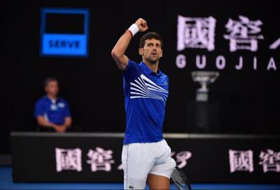 Federer scatta meglio di Nole, ma la finale va a Djokovic