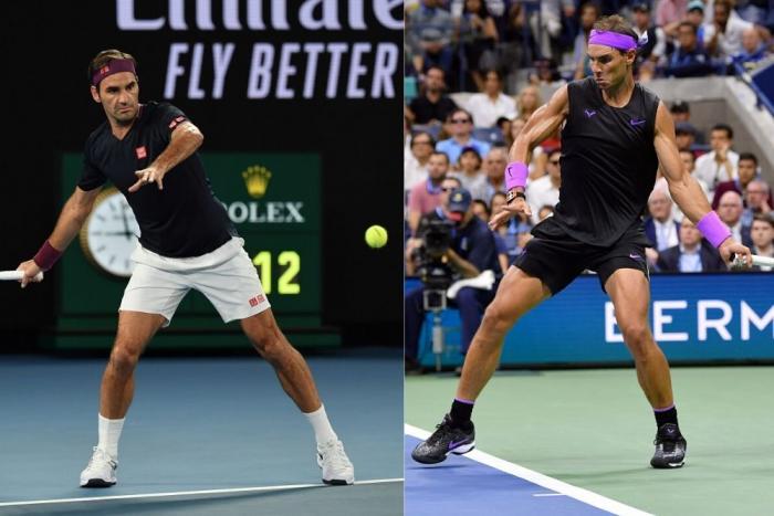 Federer e Nadal: attacco alla palla
