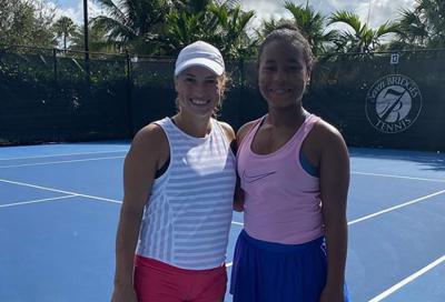 La figlia di Mike Tyson sogna un futuro nel tennis