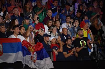 A Belgrado è festa grande per il ritorno di Djokovic