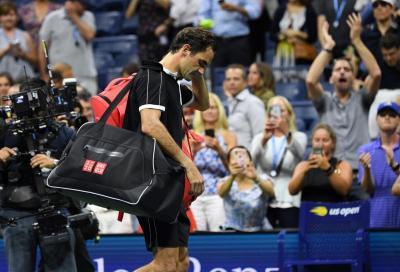 Federer operato in artroscopia :