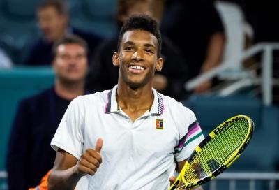 Felix Auger-Aliassime, 5 finali Atp da teenager: superato Federer