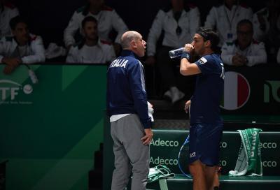 Coppa Davis, i convocati di Italia-Corea del Sud
