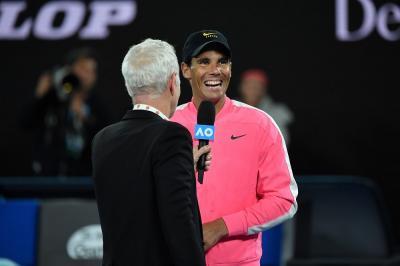 Nadal sul gruppo WhatsApp con Federer e Djokovic: