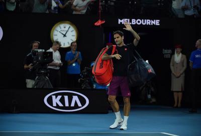 Federer perde sei mesi di tennis, ma salva la classifica