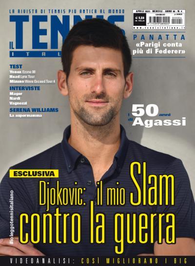 Novak Djokovic: «voglio vincere per tutti!»