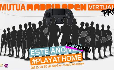 Le stelle ATP e WTA giocheranno il torneo di Madrid alla Playstation
