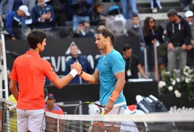 Chiacchierata Nadal-Djokovic: «Noi pronti a giocare ma situazione dura»