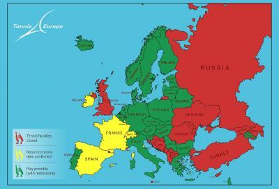 L'Europa riprende in mano la racchetta: regole e differenze per ogni nazione