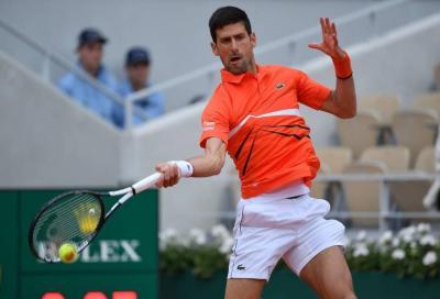 Djokovic torna ad allenarsi in Serbia ed è subito spettacolo