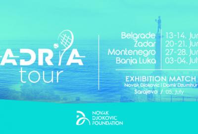 Djokovic presenta l'Adria Tour: