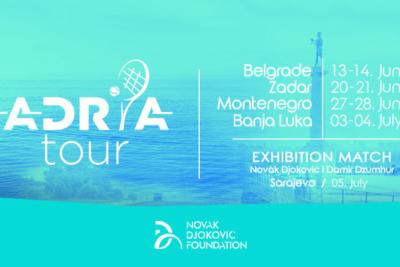 """Djokovic presenta l'Adria Tour: """"In campo Thiem, Zverev e Dimitrov. Non ho invitato Rafa e Roger"""""""
