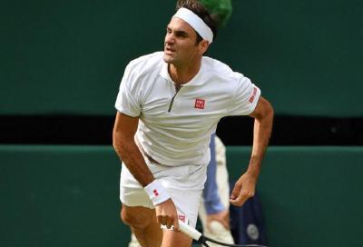 """Federer non si allena. Djokovic: """"Ha ancora problemi al ginocchio"""""""