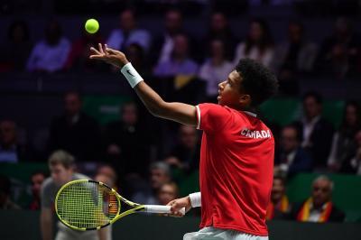 Ultimate Tennis Showdown: presente anche Auger-Aliassime