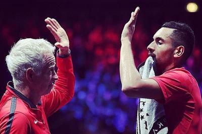 """John McEnroe: """"Allenare Kyrgios? Sarebbe incredibile se funzionasse"""""""