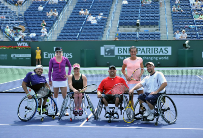 ITF e gli slam stanziano 300.000 dollari per il tennis in carrozzina