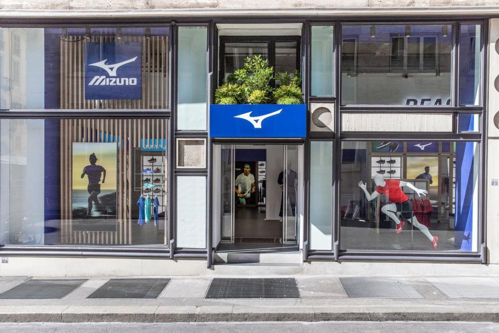 Mizuno sceglie Torino per il suo primo monomarca europeo