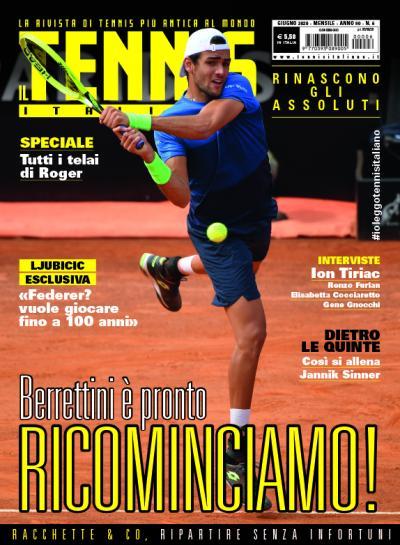 """Matteo Berrettini: """"E' tempo di ricominciare!"""""""