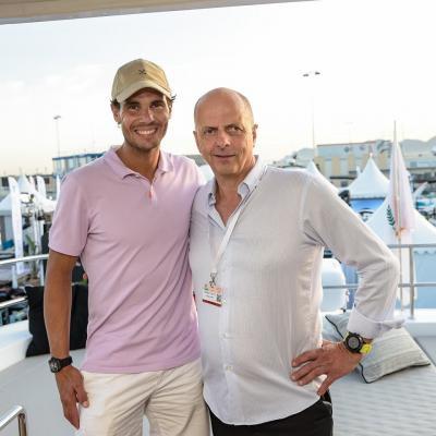 Le foto del nuovo super yacht di Rafael Nadal