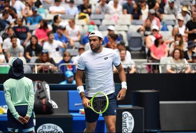 Ultimate Tennis Showdown: il debutto di Berrettini slitta a domenica, giornata rinviata per pioggia
