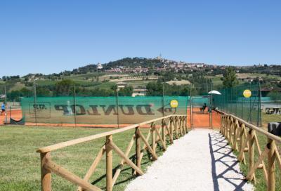 Il dietro le quinte di Todi: i tennisti si preparano ai match