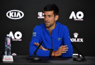 Novak, basta una parola