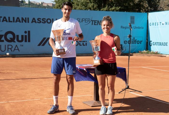 Assoluti Todi: Sonego e Paolini sono campioni d'Italia