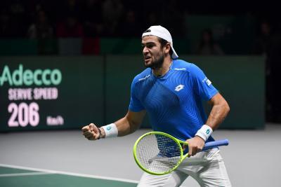 UTS: Berrettini in finale, battuto Gasquet