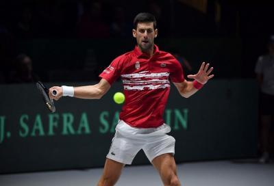 Djokovic si allena sul cemento: sì agli Us Open senza quarantena