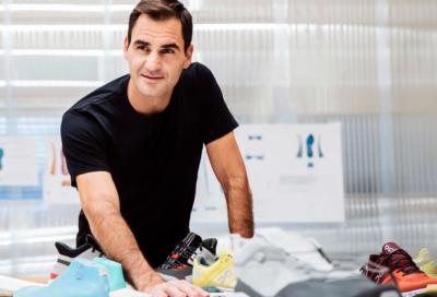 Federer vestirà il team svizzero ai Giochi con le sue scarpe