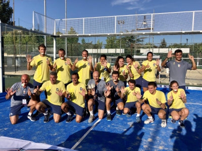 Padel, Serie A: Aniene vince il sesto scudetto consecutivo