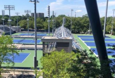 New York si prepara a Cincinnati e agli Us Open: le foto dei campi del BJK Tennis Center