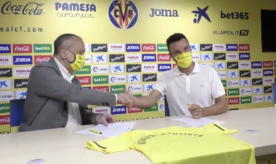 Roberto Bautista Agut indosserà in campo lo stemma del Villarreal