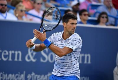 Djokovic conferma la presenza agli US Open: