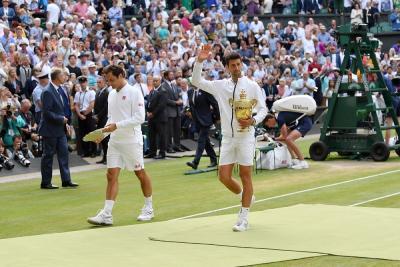 Un simulatore mostra come Federer avrebbe vinto la finale di Wimbledon con Djokovic