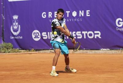 """Carlos Alcaraz sconfitto da Moroni a Todi. Ferrero: """"Tennis italiano in crescita"""""""