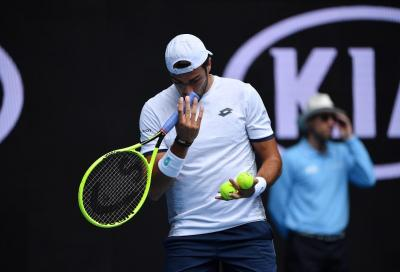 Cincinnati: Berrettini fuori con Opelka, Djokovic batte Sandgren
