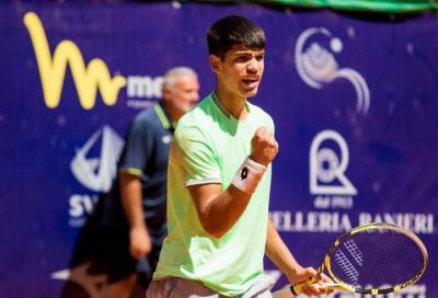 Challenger Trieste: arriva l'acuto di Alcaraz garfia, Bonadio si arrende in finale